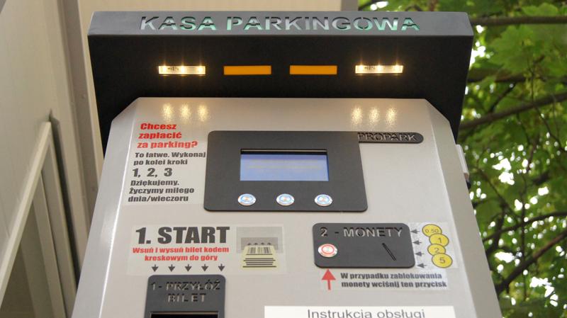 Kasa parkingowa