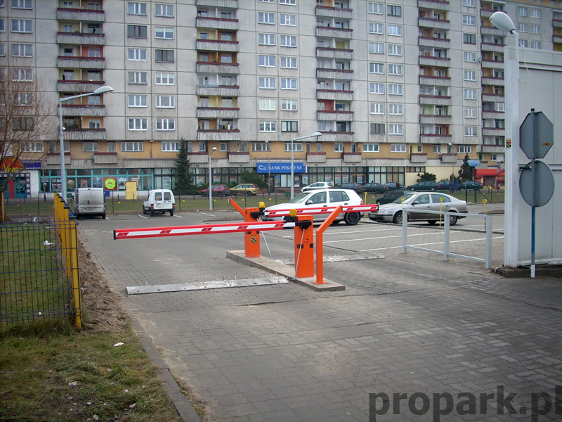 Realizacja Propark w Łodzi, parking abonamentowy