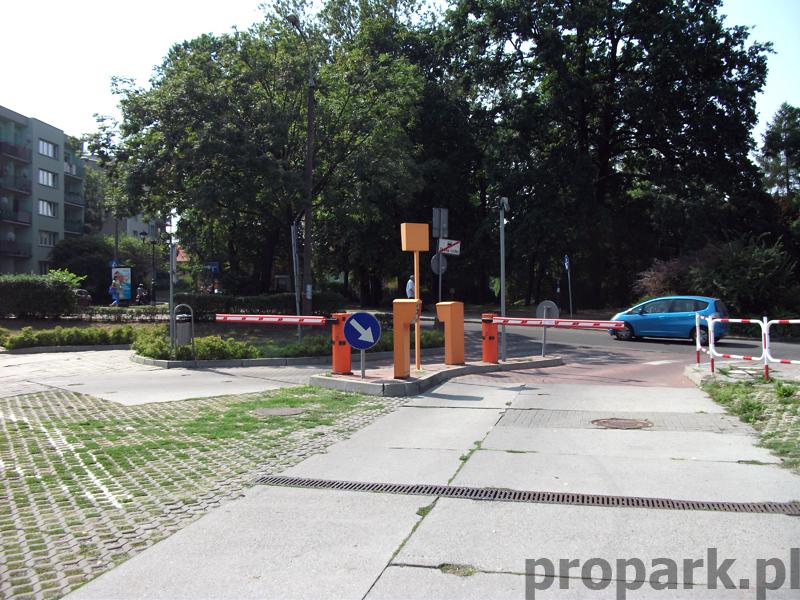 Realizacja Rybnik Parking przy ulicy Curie-Skłodowskiej