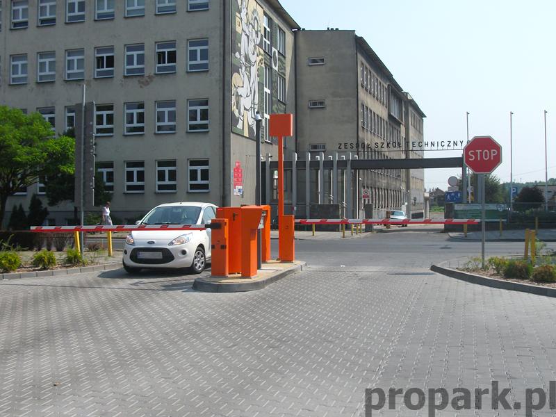 Realizacja Rybnik Parking przy ulicy Kościuszki